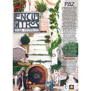 """Entrevista en la revista """"Encuentros"""""""