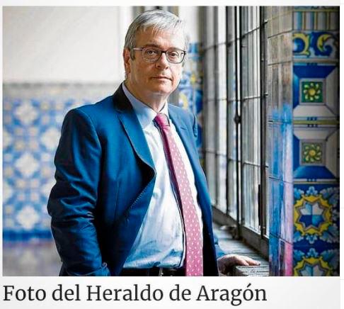 Felipe Zazurca, Fiscal Jefe de la Audiencia Provincial, sobre los TCA en Aragón en el Heraldo de Aragón.